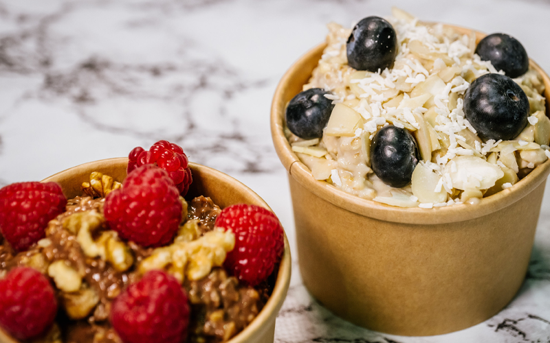 Add some variety into your snacks. Mixes of fruit, oats and other foods can maximise your nutritional variety.